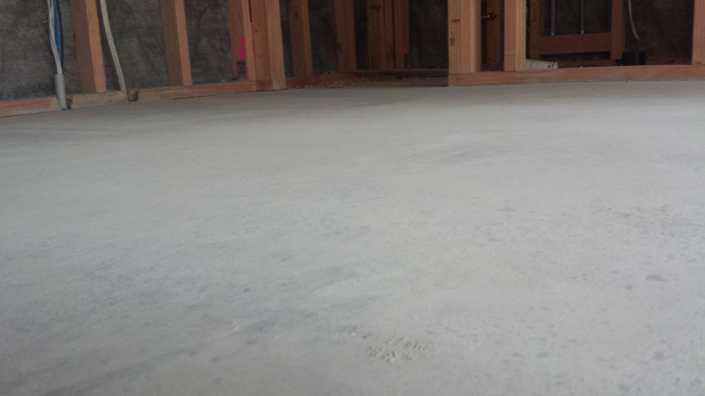 Damaged soft floor after Lythic 5