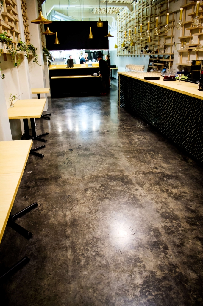 Lythic Colour Floor Polished Concrete