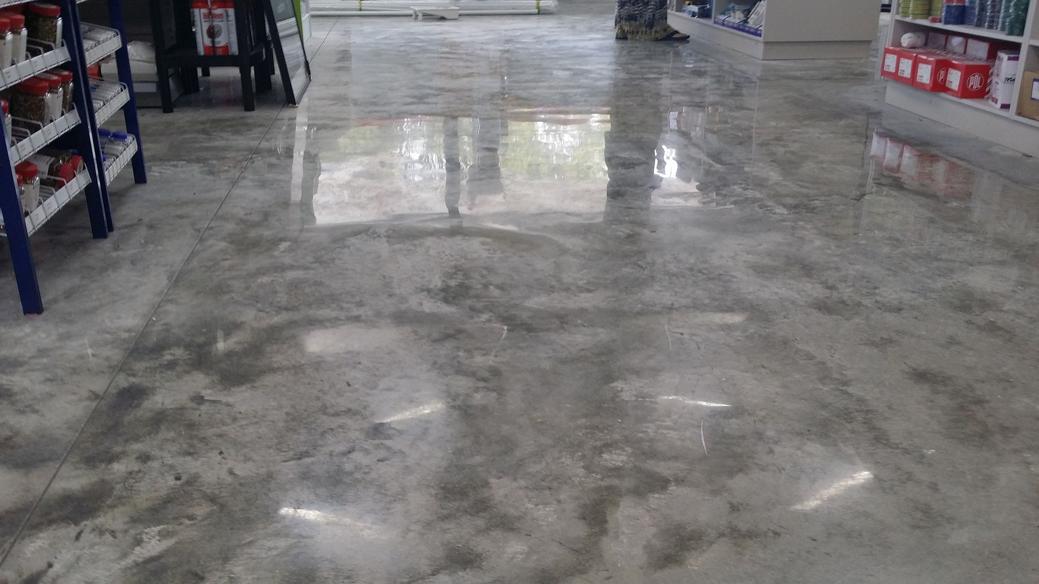 Polished concrete floor cost nz gurus floor for Polished concrete floors nz